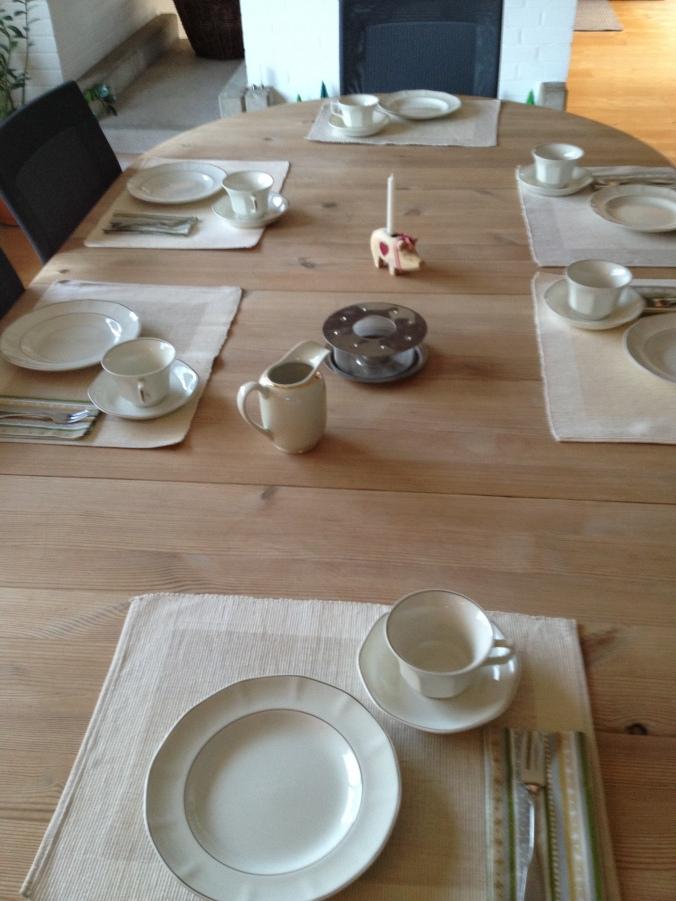 Tisch Decken Unddaslebengehteinfachimmerweiter